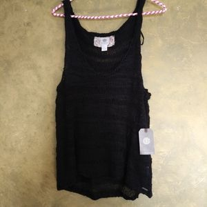 Element Eden Loose Knit Sweater Tank Top NWT